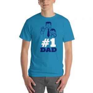 # 1 Dad Short-Sleeve T-Shirt